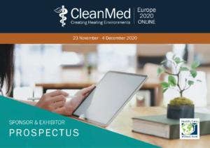 CleanMed Europe 2020 ONLINE Sponsor & Exhibtor Prospectus